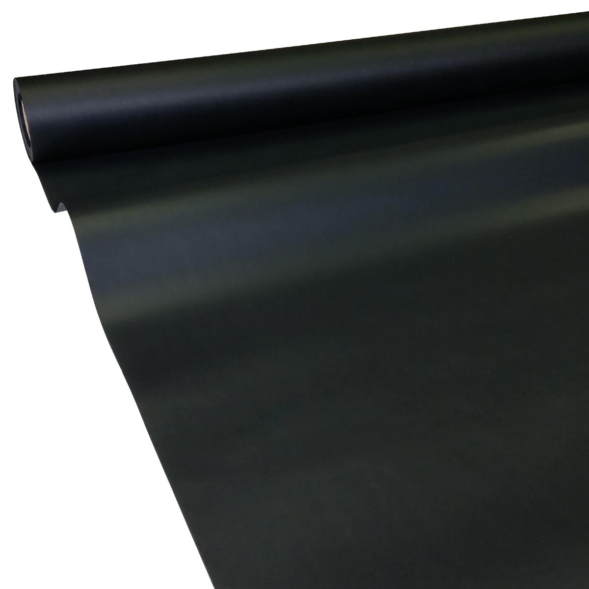 0,41€/m² 50m x 1,15m schwarz JUNOPAX Papiertischdecke Einweg Tischtuch Rolle
